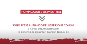POMPADOUR E SIMMENTHAL AL FIANCO DI AISM